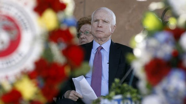 John McCain is facing the most difficult reelection bid of his career thanks to Trump