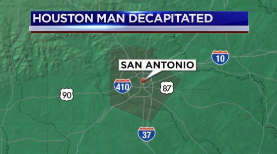Body of Houston man found decapitated, burned in SA