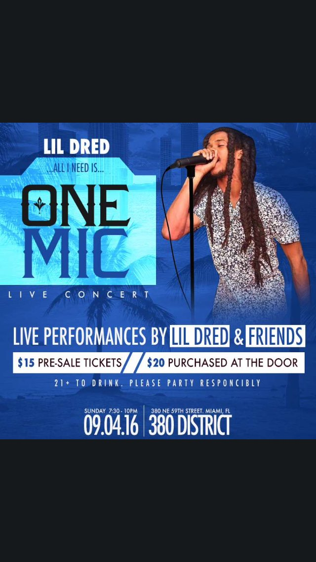Support that Boi @TheRealLilDred #Miami https://t.co/Xp6NFeh7tK
