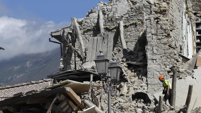 Death toll rises to 247 in powerful earthquake that rattled central Italy