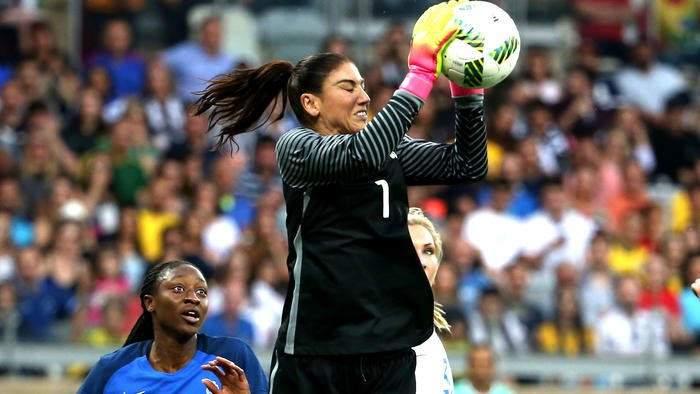 U.S. goalkeeper Hope Solo suspended from national team for six months