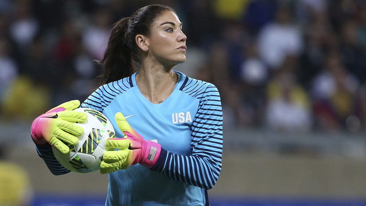 U.S. Soccer suspends goalie Hope Solo for 6 months for comments after Rio Olympics loss