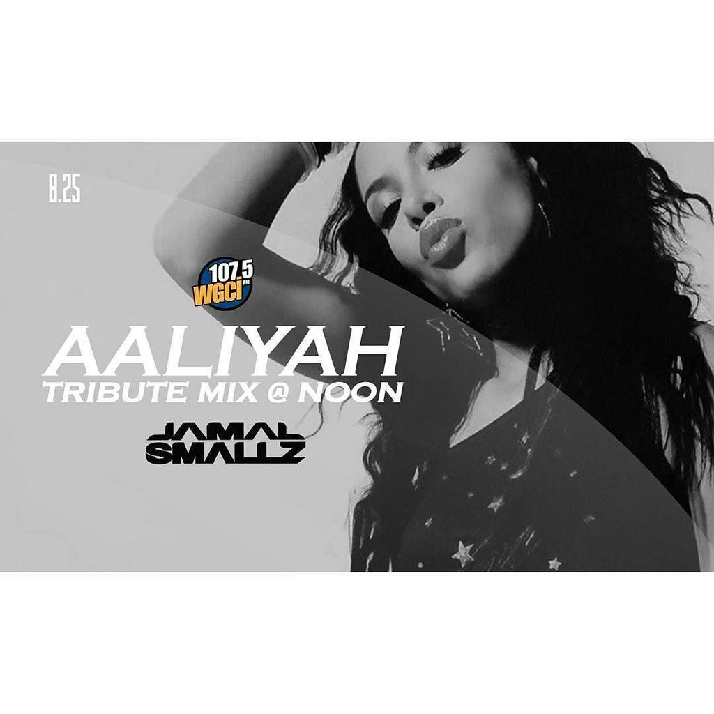 Special #JamalSmallz #Aaliyah tribute mix 2day at noon on 107.5 @WGCI #Aaliyah #Rip  #wgci… https://t.co/MezwVrfDjK https://t.co/h57b3mUtJQ