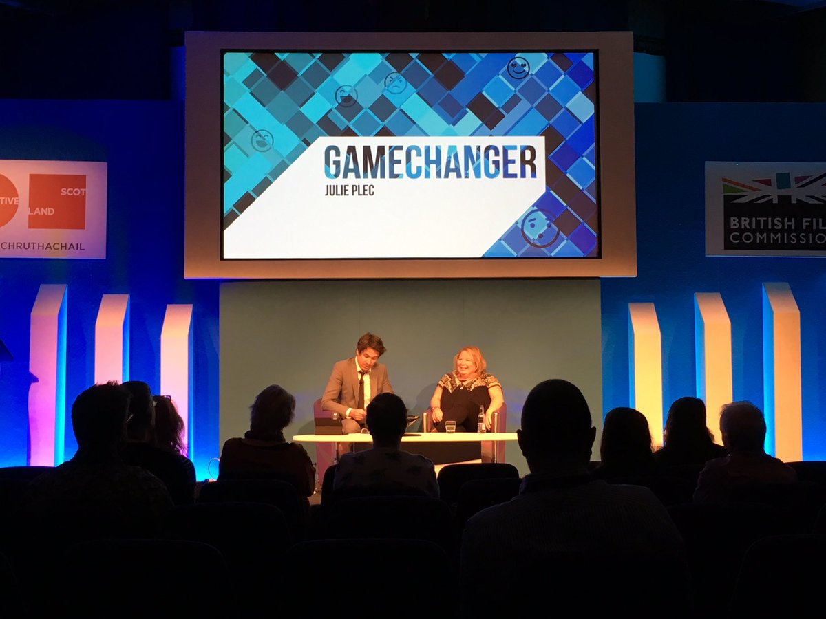Loving @jjuIieplec at #edtvfest - will have to watch Containment now!