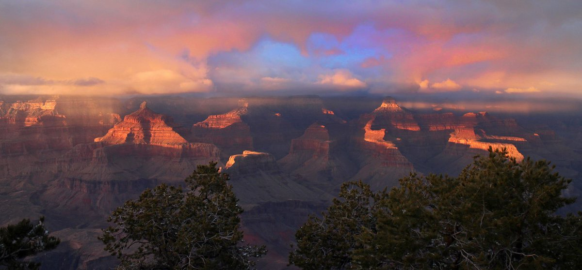 Today we celebrate 100 years of protecting beautiful vistas - like this view of #GrandCanyon #NPS100 -mq https://t.co/MK2x6J3jei