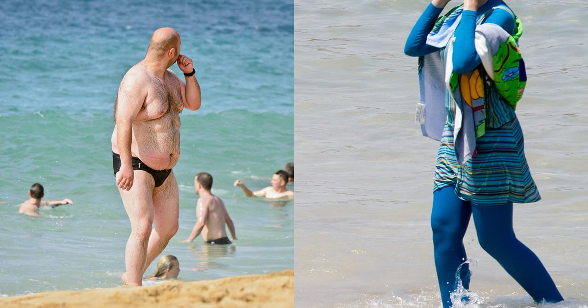 Are not fat men in speedos