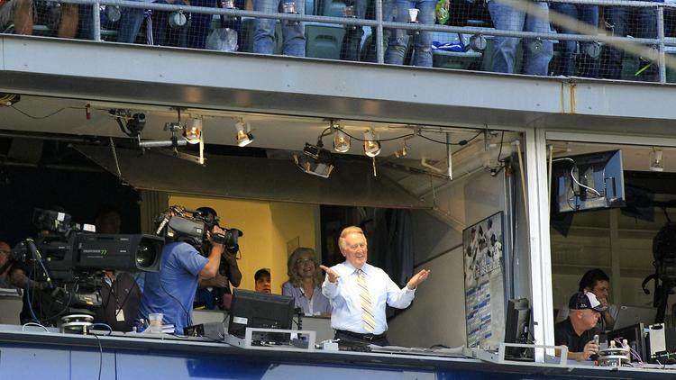 Cubs announcers bow to the greatest: Retiring Dodgers broadcaster Vin Scully @Sherman_Report