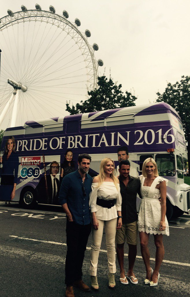 With my @PrideOfBritain buddies @MrPeterAndre @Jennifalconer @Mattjohnsons Get nominating now for this year's awards https://t.co/kSA02gT1s1