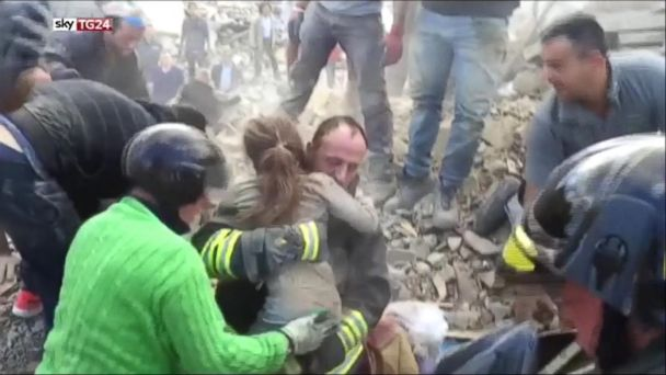 Italy Earthquake: 10-Year-Old Girl Pulled From Rubble After 17 Hours Beneath Wreckage