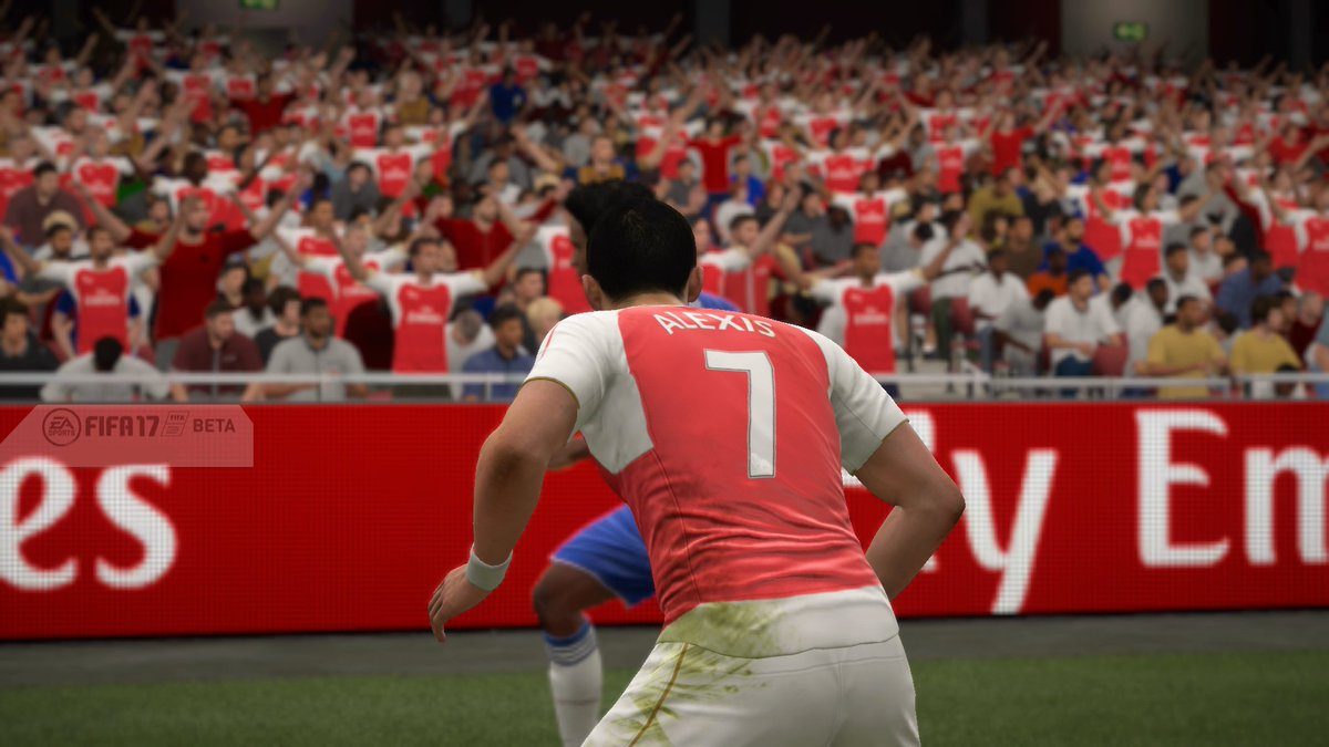 FIFA 17: Capturas In-Game Beta con Frostbite