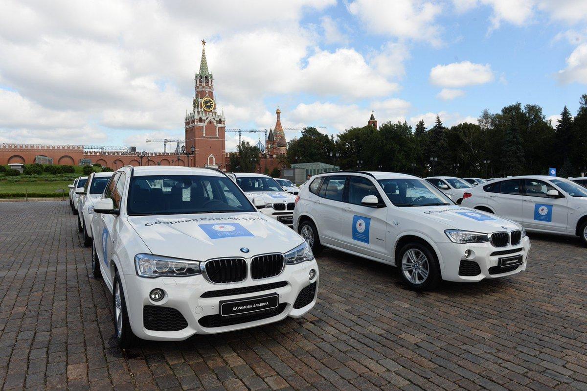 какие авто получат российские олимпийские чемпионы в рио всей России