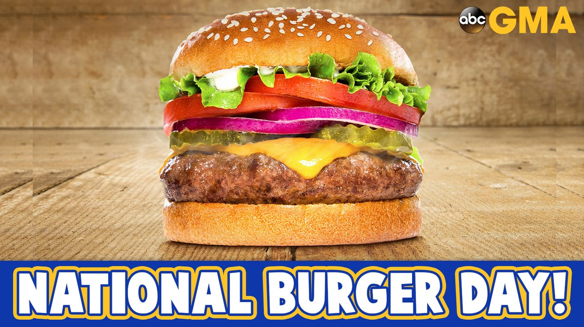 Happy NationalBurgerDay! Best burger for me? In-N-Out Burger, animal style. What's your favorite burger?