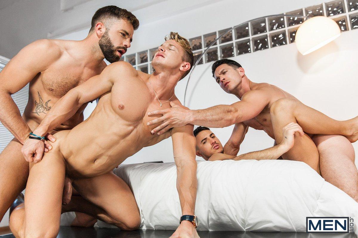 Brad Star Gay Orgy 56