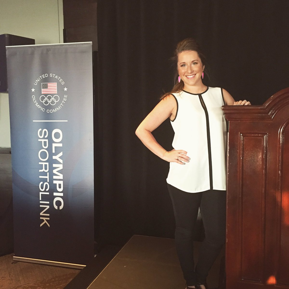 "Carly Patterson On Twitter: ""Excited To Host The @TeamUSA"