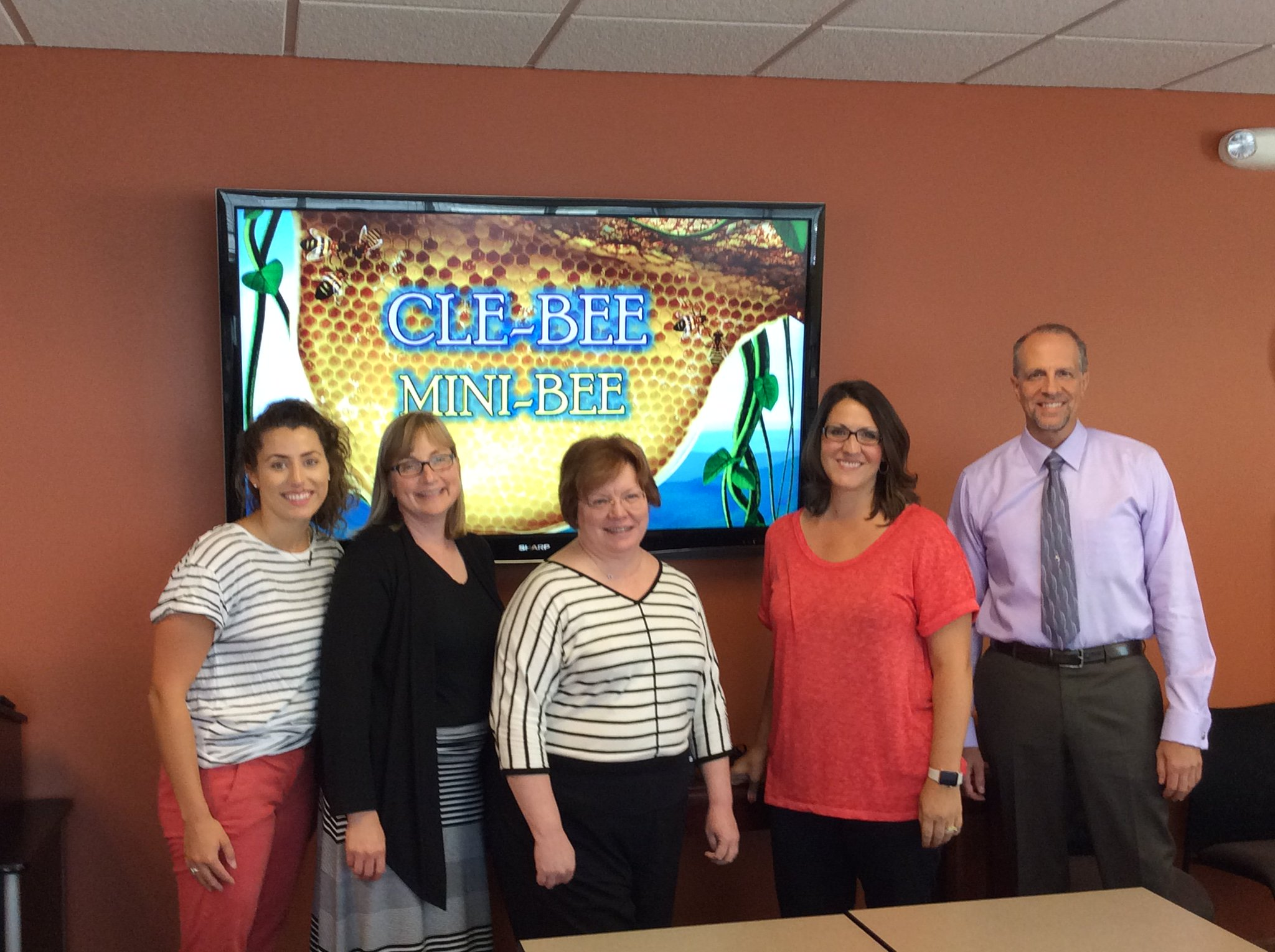 Corrigan Krause and DMS Management Solutions team for our #CLEBEE on September 8th! It is going to be a fun night! https://t.co/sJqAyRggTV