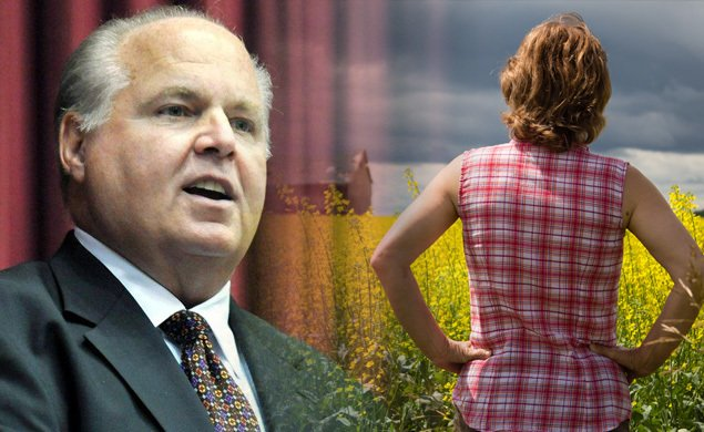 Rush Limbaugh warns of alleged lesbian farmer invasion