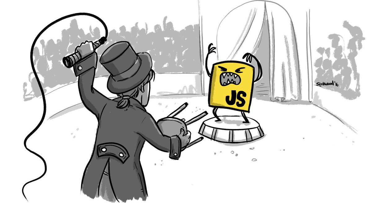 JavaScript: The Strange Parts— read about the most bizarre tests we've written in test262: https://t.co/8QRJwCCIgo https://t.co/JOPNjfX9eV