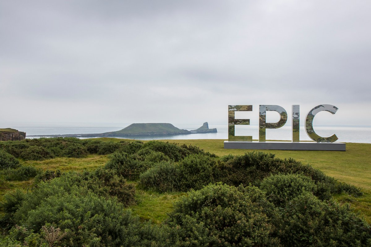 It's Official... Rhossili is EPIC! #FindYourEpic #Swanseabayadventures https://t.co/dO5wbolvMb