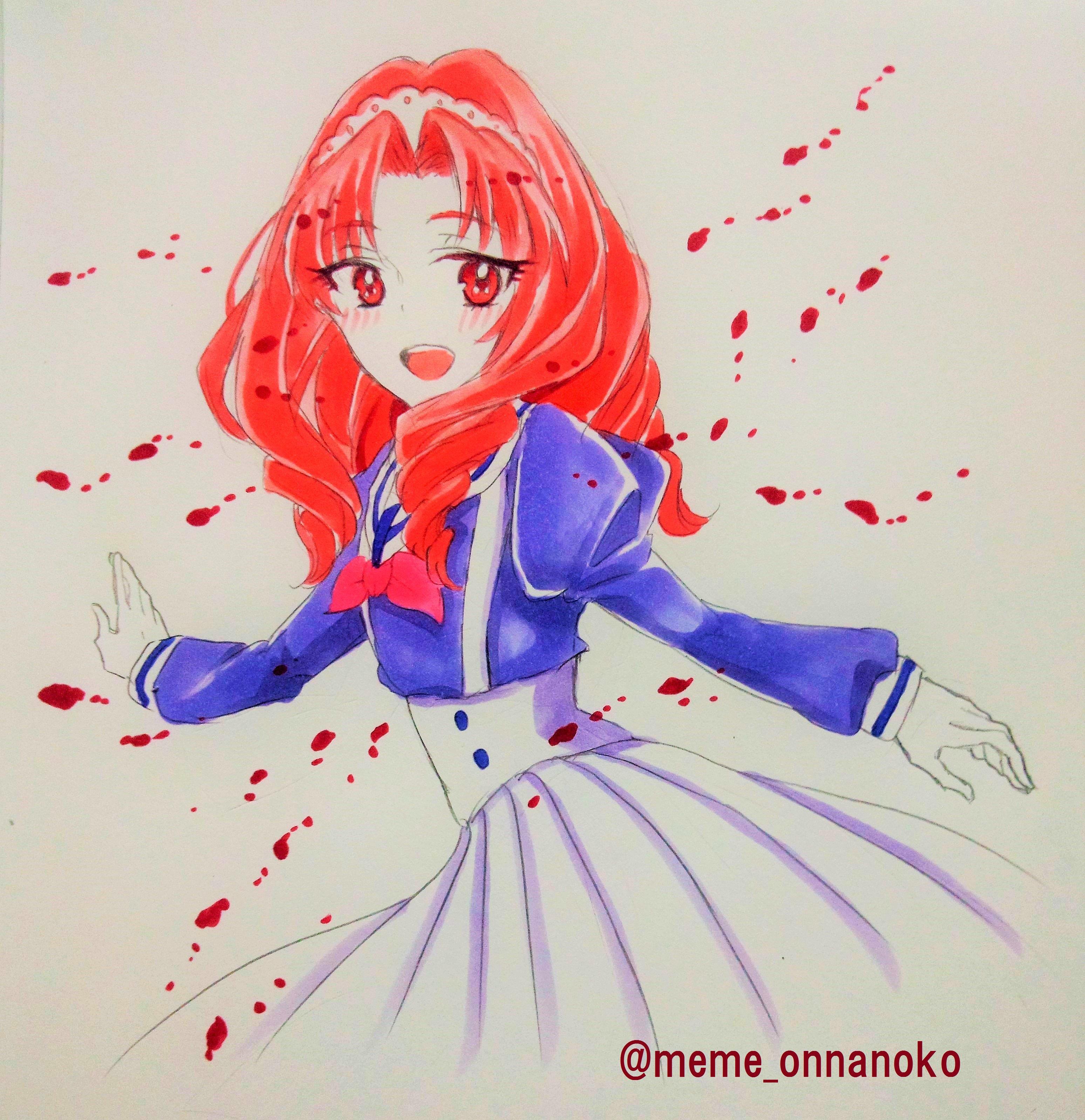 めめ (@meme_onnanoko)さんのイラスト