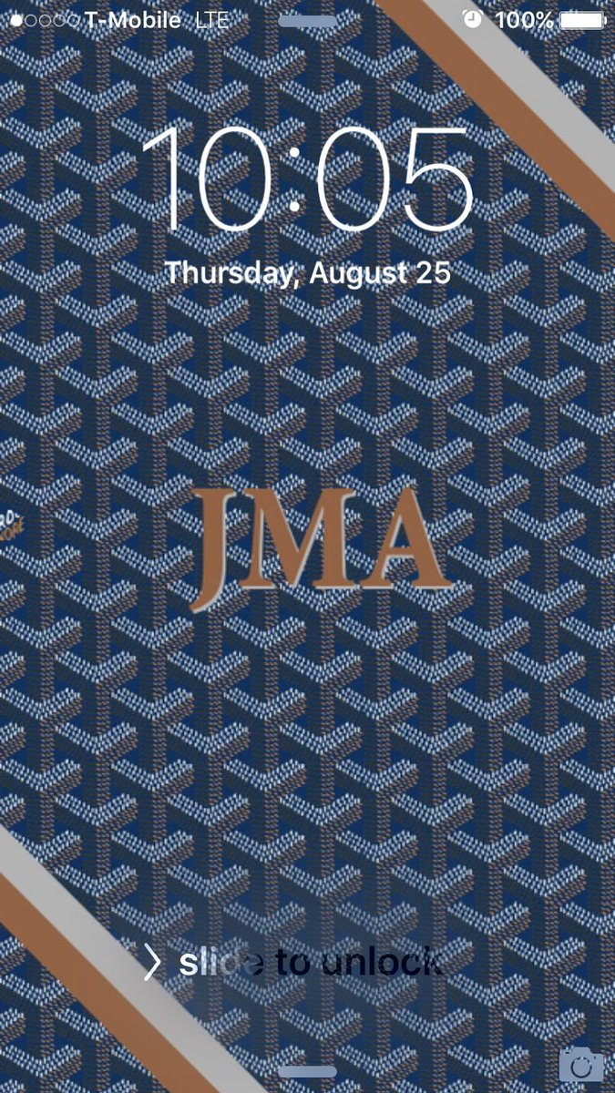 """Mikie👨🏻 🚀 on Twitter: """"Goyard wallpaper since my ass cant afford physical goyard 😂😂… """""""