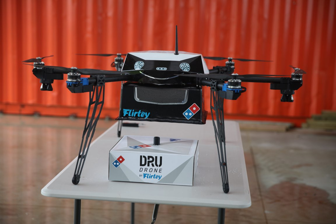 Domino's has trialled pizza delivery by drone in New Zealand https://t.co/P5vBQM8Wg3