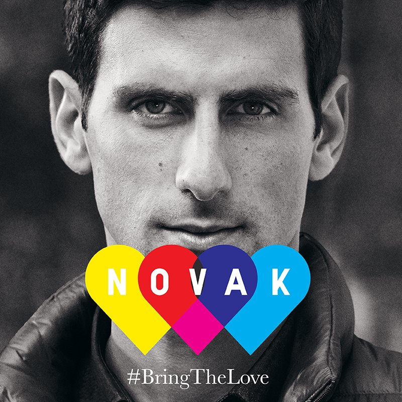 Help inspire the kids of @NYJTL! Cheer @DjokerNole on using #BringTheLove & we'll donate $1! https://t.co/ZsIYREBTey https://t.co/hwfPJxAc5Y