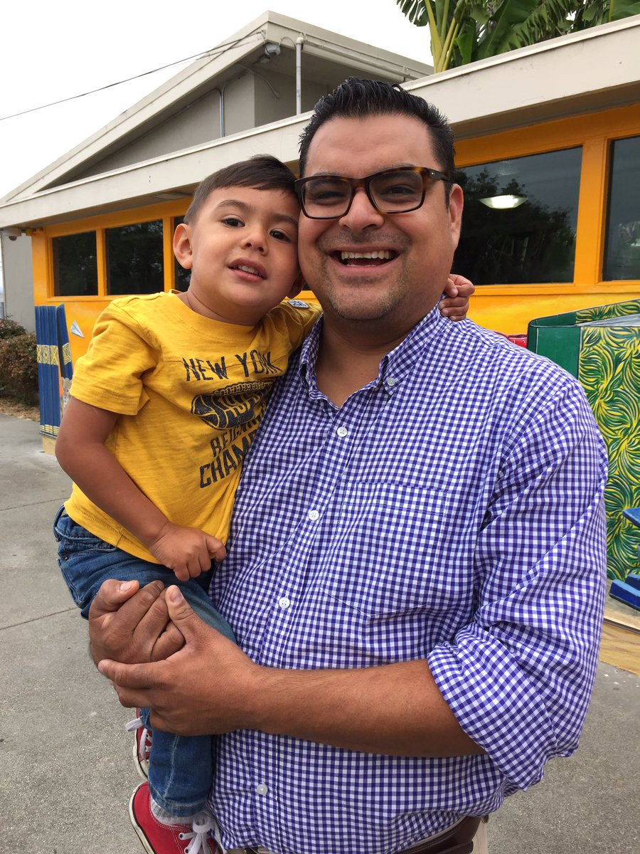 Adam carabajal' boss allowed him to show up late to drop son at school. Million father march. Hayward @kron4news