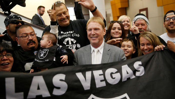 Raiders show they're serious about possible relocation to Las Vegas