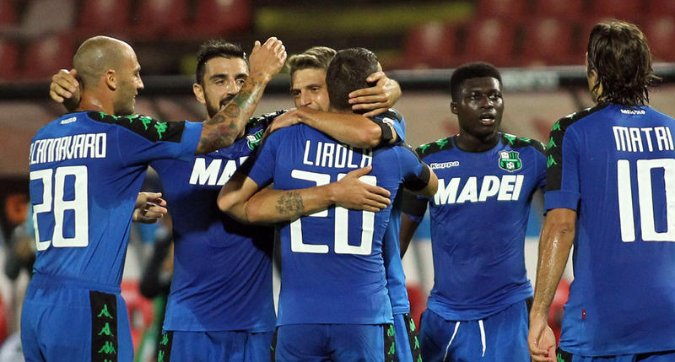 STELLA ROSSA SASSUOLO 1-1 Video Gol Highlights (Europa League)