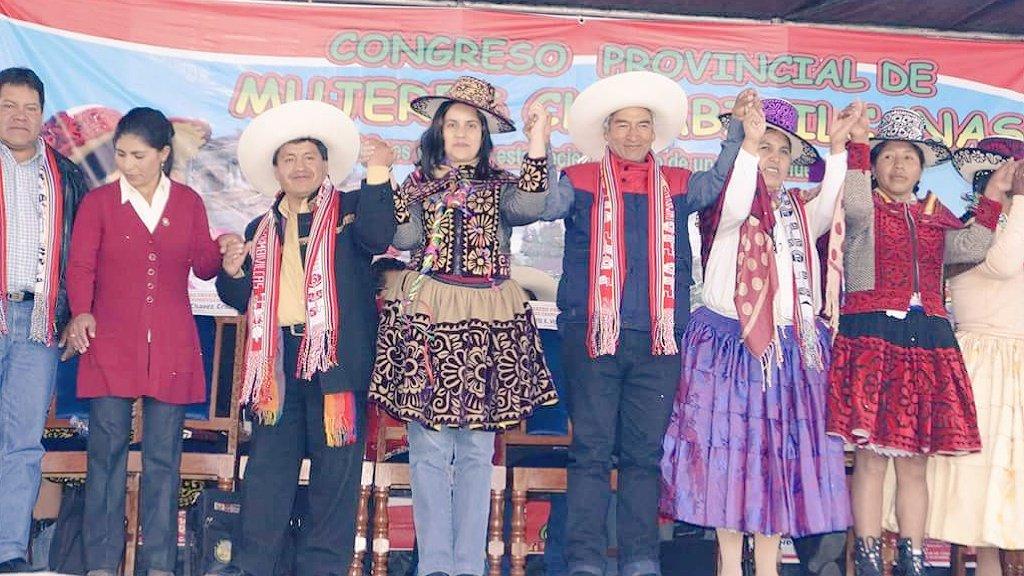 Congreso Provincial de Mujeres chumbivilcanas
