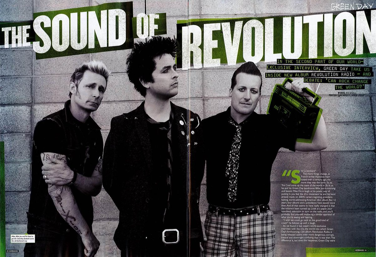 green day on quot green day reveal all about their