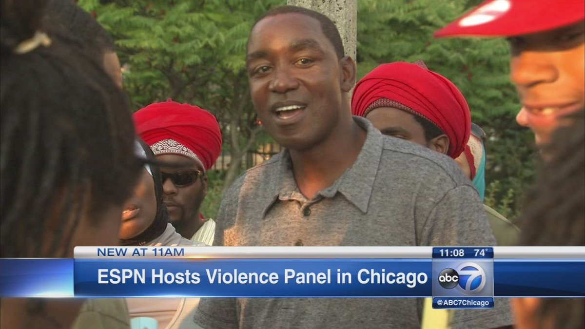 National violence panel taping in Chicago today will air on ESPN at 8:30PM