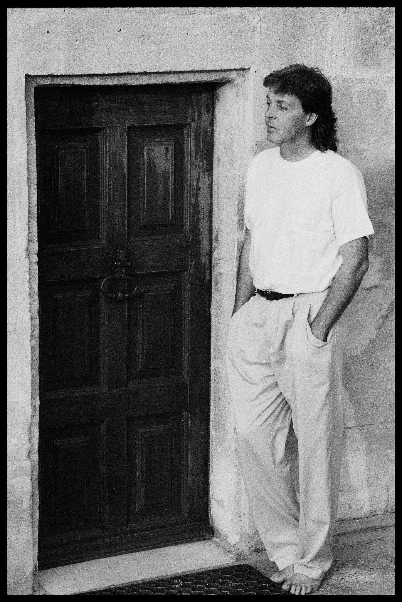 Paul McCartney On Twitter In The South Of France Photo By Linda ThrowbackThursday TBT