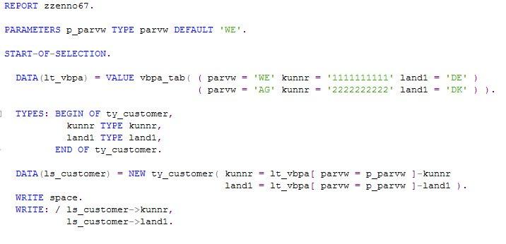 ABAP Development
