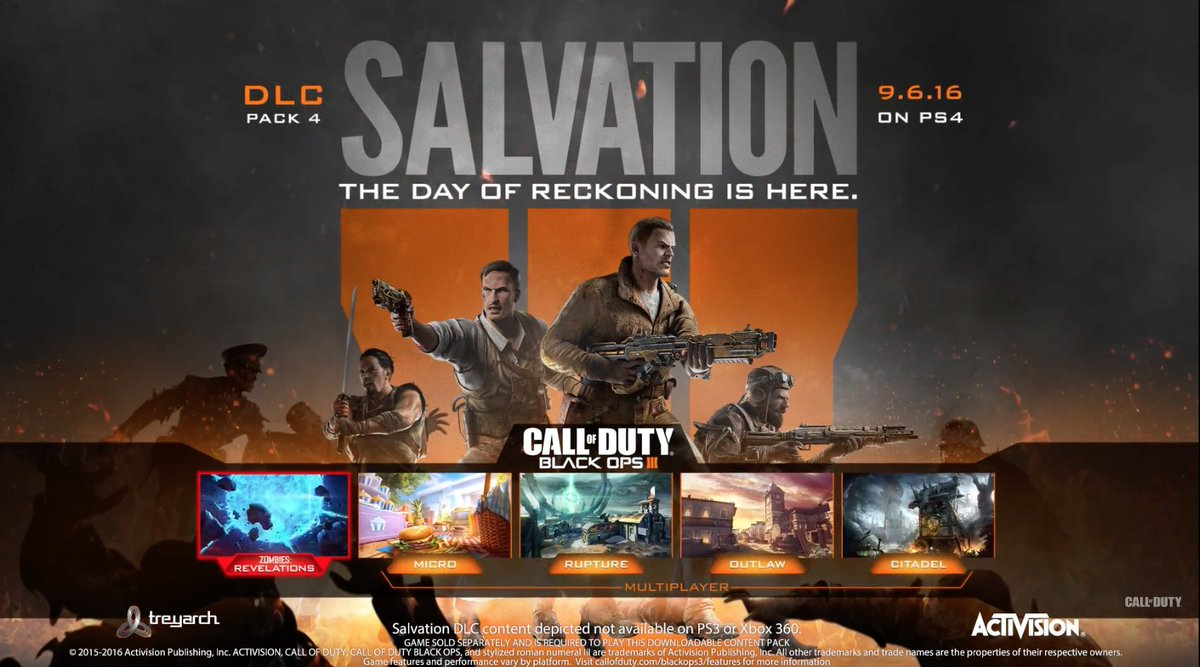 Call of duty: Black Ops 3 salvation