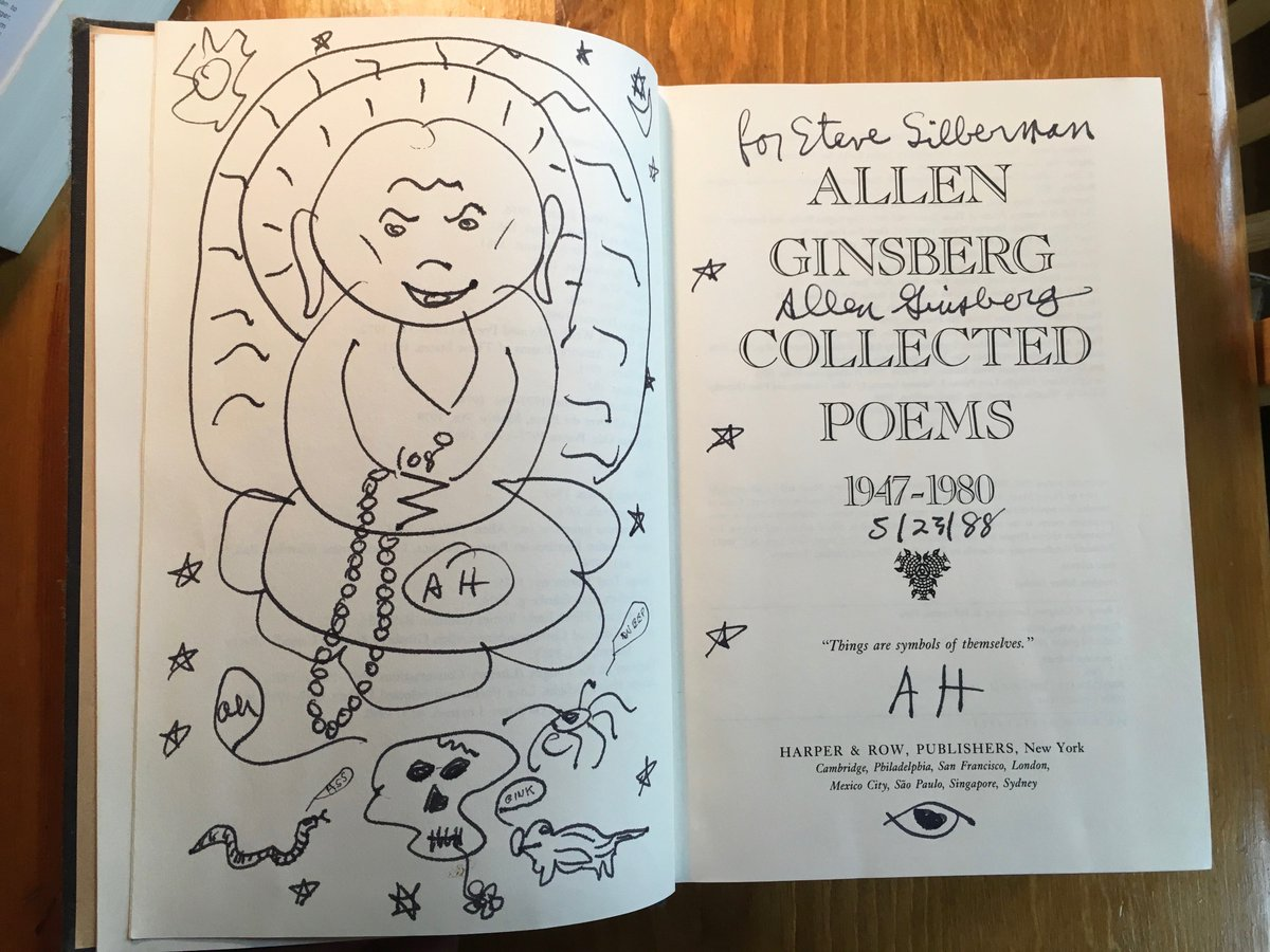 Collected Poems Allen Ginsbergs Lovely Gnostic Doodle In