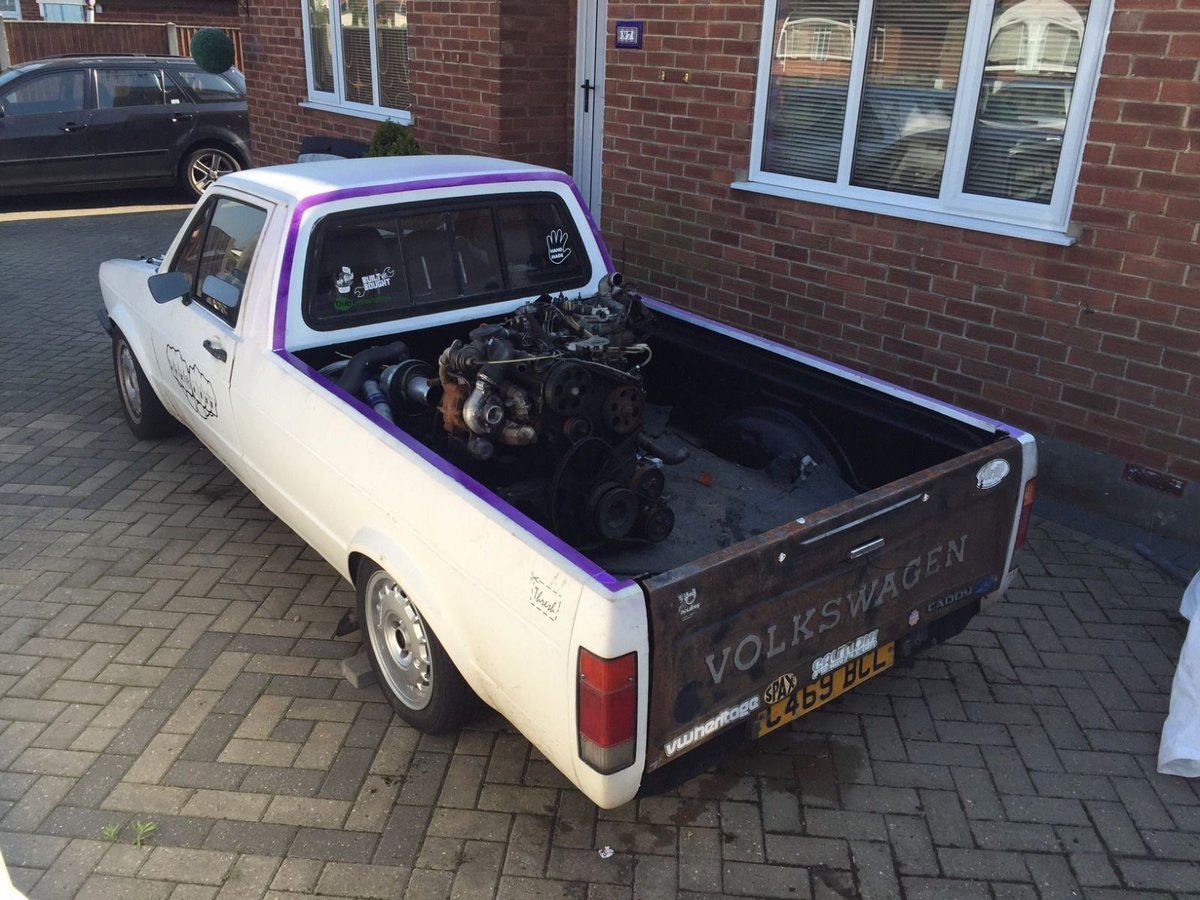 Project Cars Uk On Twitter Vw Caddy Mk1 Pick Up Project Relationship Break Up Causes Sale Https T Co I8hxldp07t Vw Caddy