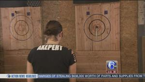 First competitive axe throwing facility in US opening in Philadelphia