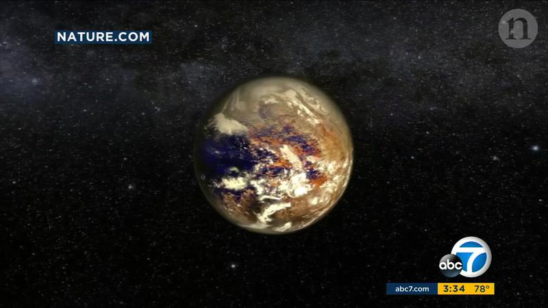 Planet slightly larger than Earth found orbiting nearby star