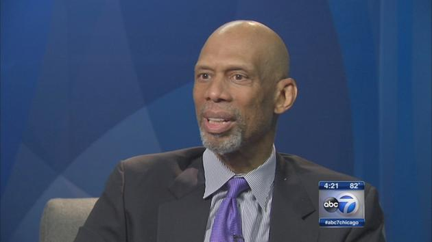 Kareem Abdul-Jabbar is signing copies of his new book in Naperville tonight