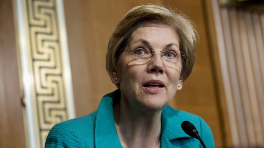 Elizabeth Warren says she's open to the possibility of legalizing marijuana in Massachusetts