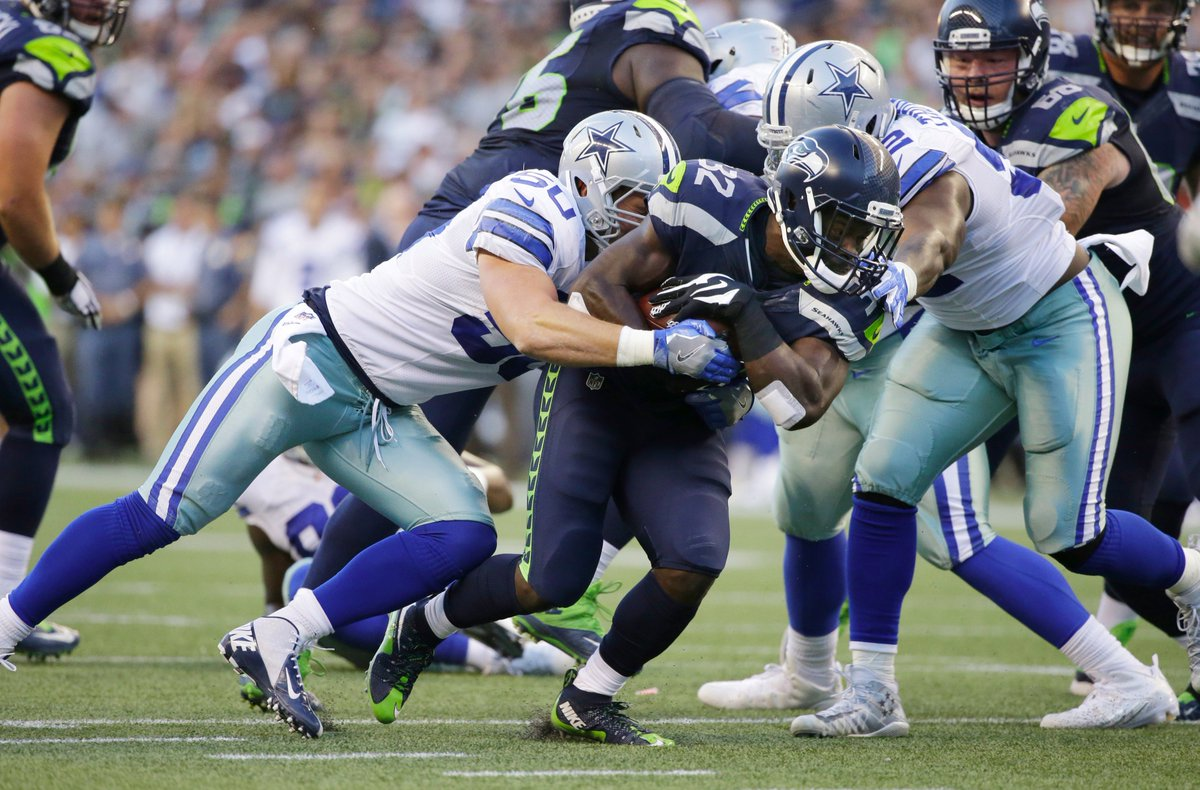 And that's a wrap. The Seahawks beat the Cowboys 27-17