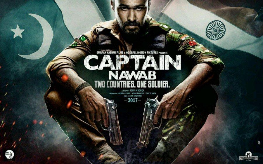 First look: #EmraanHashmi as a soldier in #CaptainNawab poster https://t.co/vAJ6zG1PEZ