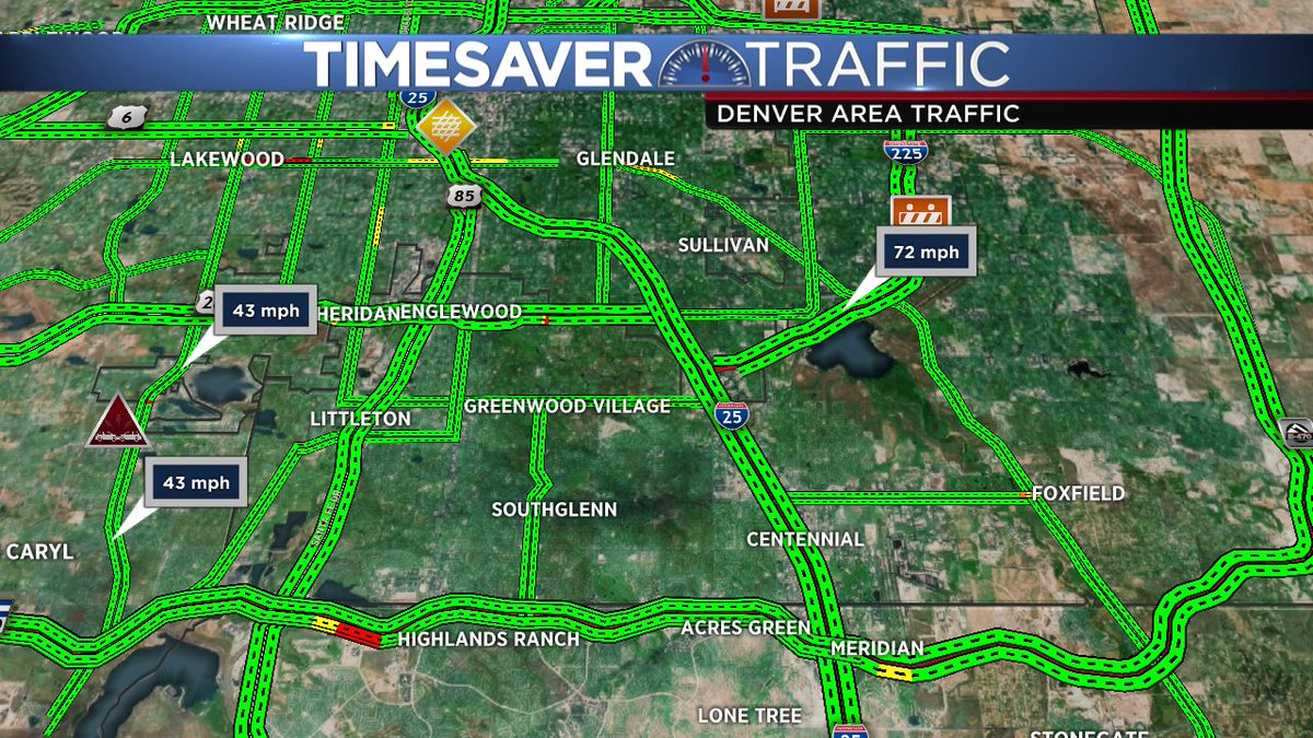 Rollover crash ont ehramp from SB 225 to Iliff @Gooddayco cotraffic