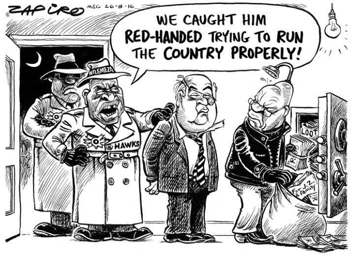 @zapiro @mailandguardian on the summoning of Finance Minister Pravin Gordhan by the Hawks-https://t.co/j11HnjPTPm https://t.co/RgKuFGZTpM