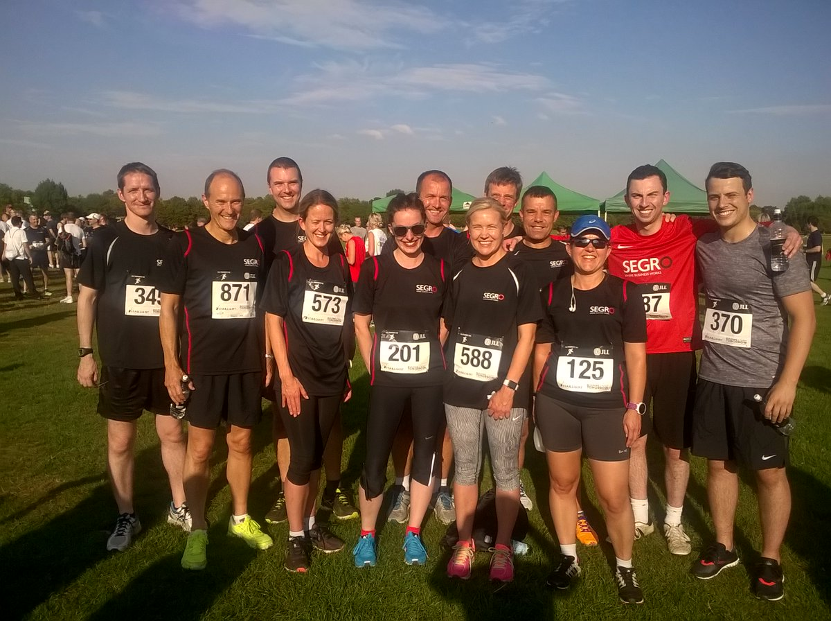 RT @SEGROplc Congrats to @SEGROplc team that took part in @Property5k, a super event fundraising for charity #ShowUsYourRaceFace