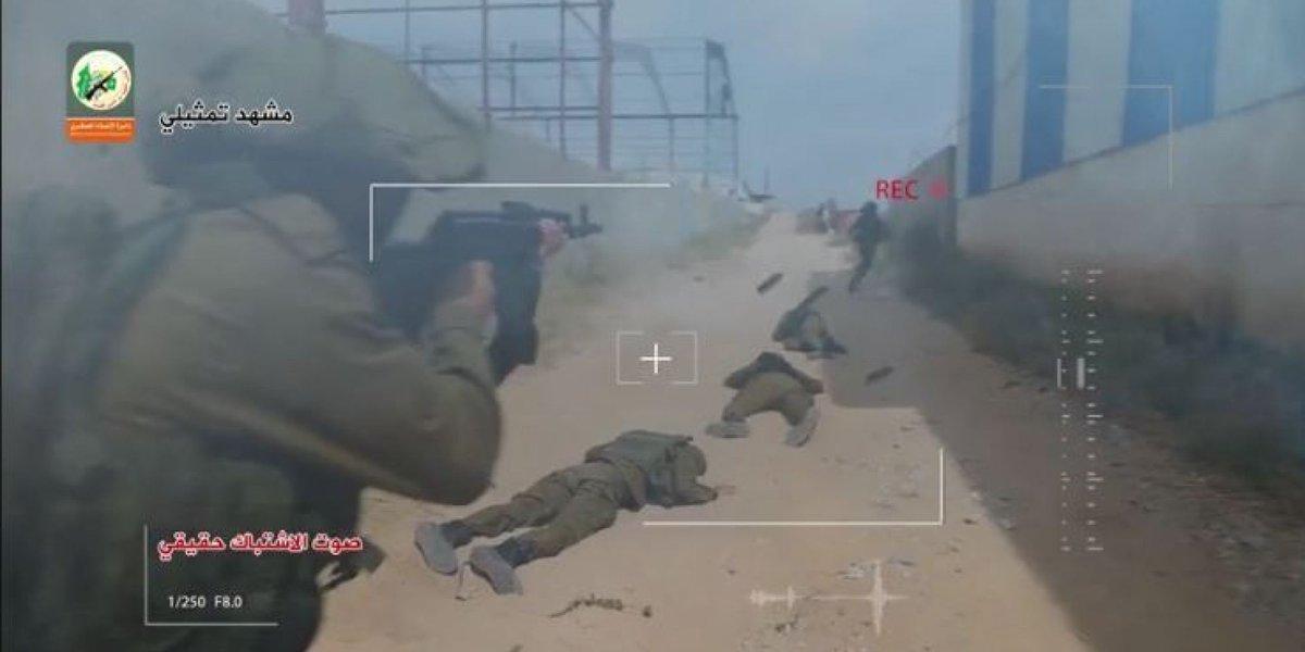 القسام تكشف عن مشاهد لقتل 8 جنود إسرائيليين من مسافة صفر (فيديو)