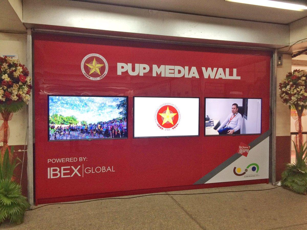 PUP Media Wall