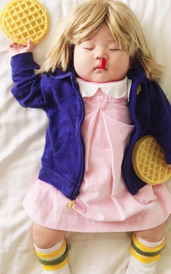 Mom dresses baby as 'Stranger Things's Eleven. Internet loses it. 9NEWSMornings
