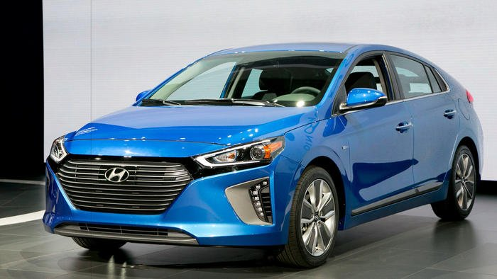 Would you trade in your Prius for the new eco-friendly Hyundai Ioniq?
